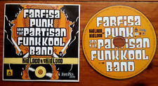 FARFISA PUNK and the Partisan funkool band Kid Loco Inrocks Cd single