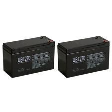UPG 12V 7Ah SLA Battery for Liftmaster RSW12VDC Swing Gate Opener - 2 Pack