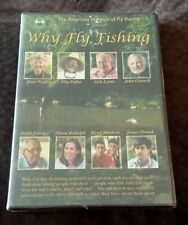 Why Fly Fishing (DVD) American Museum sports hobby Gardner Grant BRAND NEW!