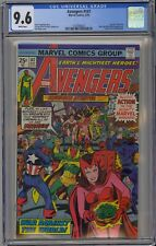 Avengers #147 CGC 9.6 NM+ Wp Marvel Comics 1976 Serpent Crown Jack Kirby Cover