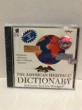 The American Heritage Cd-Rom Dictionary For Windows