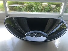 Beautiful Black Display DISH BOWL Ornament Decorative Item Cost £79 From Wayfair