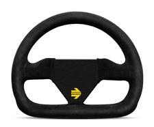 "MOMO MOD 12 Steering Wheel 250mm  + Free MOMO Suede Brush ""US Dealer"""