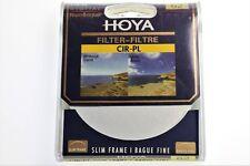Hoya 62mm circular polarising filter - slim frame *UK Seller*