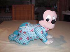 Disney Mickey Mouse Krabbeler - Mattel 1999 - Maus Krabbler Krabbelbaby Micki