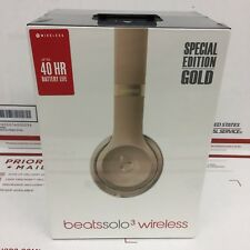Beats by Dr. Dre Solo3 Wireless On-Ear Headphones A1796 - Color: GOLD