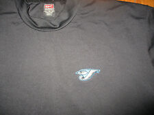 Game Worn TORONTO BLUE JAYS Ernie Whitt Short Slv Workout Shirt XL Nike Dri Fit