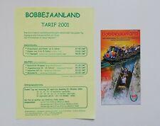 Freizeitpark - Bobbejaanland - Prospektmaterial - 2001