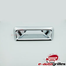 Triple Chrome Plated ABS Tailgate Rear Door Handle Cover for 11-13 Ford Explorer