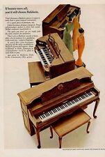 1966 Baldwin Piano Organ PRINT AD