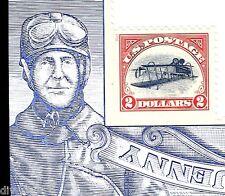 $2.00 Inverted Jenny single on souvenir sheet mint self-adhesive USA 2013