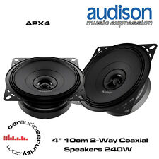 "Audison APX4 - 4"" 10cm Midbass Speaker Dash Speakers 240 Watts Total Power"