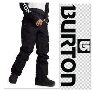Men's Burton Phantom Black Snowboarding Pants - Sz L $175 MSRP