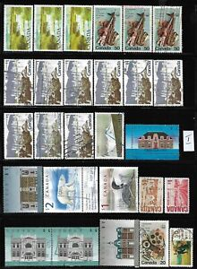 Canada lot of high value used stamps off paper see photo #1