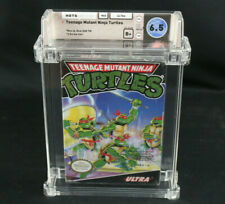 Teenage Mutant Ninja Turtles TMNT Nintendo NES Wata Graded 6.5 B+ New/Sealed