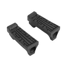 2Pcs Rubber Front Pedal Footrest Foot Pegs Fit for Yamaha YBR 125