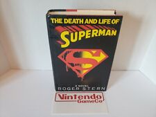 The Death and Life of Superman by Roger Stern (1993, Hardcover) First Edition