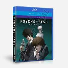 Psycho-Pass Season One Episodes 1-22: Classics (Blu-ray Disc, 2018, 4-Disc Set)