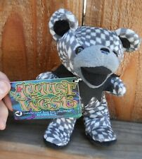 """Grateful Dead """" August West """" Beanie Baby 7"""" Tall Made By Liquid Blue (New) 1996"""