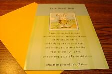 "EASTER : DAD "" To a Great DAD, Memories "" Easter Greeting Card .99  New e10"
