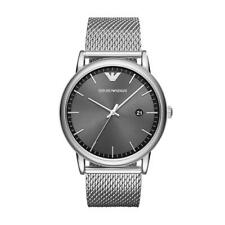 Emporio Armani AR11069 Men's Watch Silver 43mm Stainless Steel