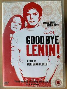 Goodbye Lenin DVD 2003 German Berlin Wall Comedy Drama with Daniel Bruhl