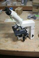 Zeiss Axiostar Plus Microscope W/ Binocular & 4 Objectives