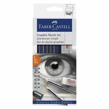 Faber-castell 8 Pieces Graphite Sketch Set New