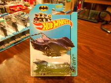 Hot Wheels 2014 HW City Long Card Batmobile Blue 62/250 MONMC (see pic)