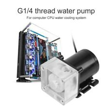 12V 500L/H G1/4 Thread Ultra-quiet Water Pump For PC CPU Liquid Cooling System