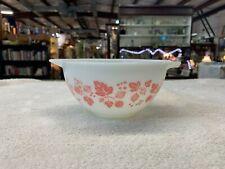 Vintage Collectible Pyrex Pink Gooseberry Cinderella Mixing Bowl #441