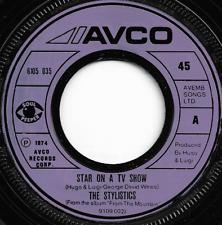 THE STYLISTICS - STAR ON A TV SHOW - AVCO 1974 - ORIGINAL 70s FUNK SOUL DISCO