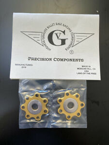 Von Giese VG BMX DROPOUT SAVERS CNC Alloy Washer Made in USA GOLD SE GT CW BOSS
