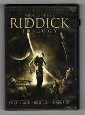 Riddick Trilogy (Dvd, 2006) Pitch Black / Dark Fury / Riddick - Vin Diesel