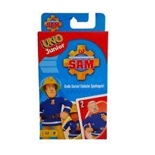 UNO Junior Feuerwehrmann Sam Kartenspiel Kinderspiel Mattel Games