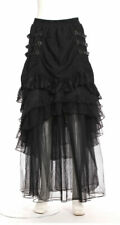 RQ-BL Red Queen's Black Legion Camarilla Maxi Rok Skirt Steampunk Gothic SP120