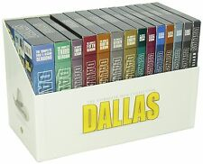 Dallas Complete Classic TV Series Seasons 1-14 + 3 Movies DVD