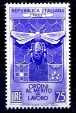 ITALIA 1953 - ORDINI AL MERITO  NUOVO  **