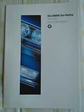 BMW 3 Series Accessories brochure 1995 Ed 1 German text