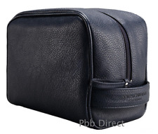 D   G TOILETRY WASH BAG DOLCE GABBANA MENS NAVY SHAVE TRAVEL GYM POUCH  AUTHENTIC c127b339194e8