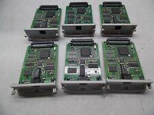 Lot of 6 Hp JetDirect 610n & 615n Printer Cards