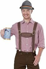 California Costumes Lederhosen Kit Hat Suspenders Oktoberfest Beer German 60682