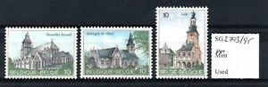 Belgium 1984 Tourist Publicity set SG2793/95 MNH
