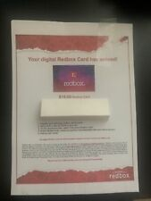 Redbox $10 Digital Movie Gift Card