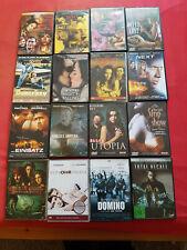 58 DVDs Sammlung Konvolut Filme Erotik Action Blockbuster gepflegt teilweise neu