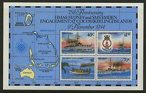 Cocos Islands   1989   Scott # 210e    Mint Never Hinged Souvenir Sheet