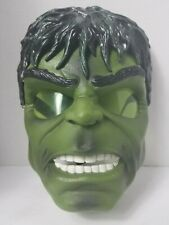 The Incredible Hulk Mask w/Light Up Green Eyes Marvel Super Hero Working 2008