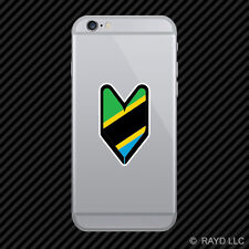 Tanzanian Driver Badge Cell Phone Sticker Mobile Tanzania TZA TZ