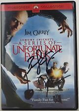 Lemony Snicket's a Series of Unfortunate Events (Widescreen Edition) SIGNED