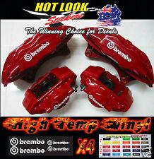 4 BREMBO BRAKE CALIPER HIGH TEMP Stickers Decals Suit TOYOTA SUPRA Turbo